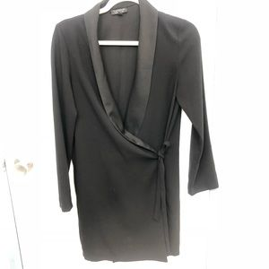 Topshop relaxed blazer tux